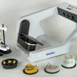 Escáner con accesorios